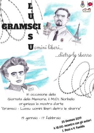 Gramsci e Lussu: uomini dietro le sbarre